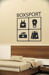 Wall Tattoo Boxsport